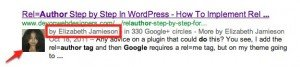 Google Author Tag