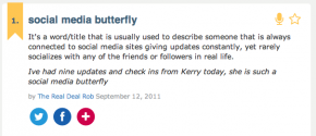 Kerry Rego is the Social Media Butterfly