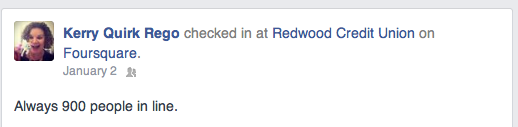 Redwood Credit Union Social Media Customer Service