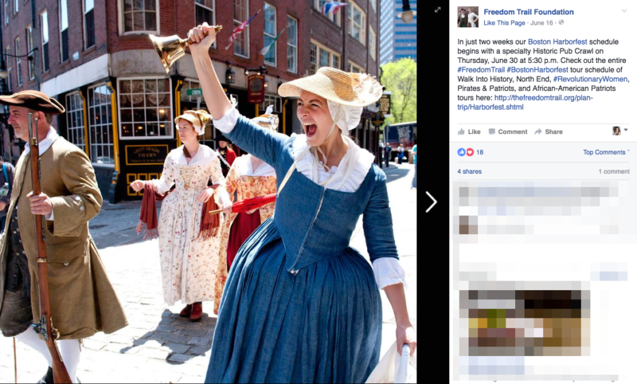 Freedomtrail Foundation Facebook