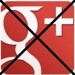 Delete Google+