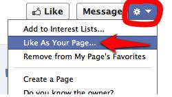 Like as a Page