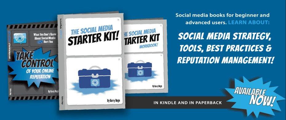 Kerry Rego Social Media Books