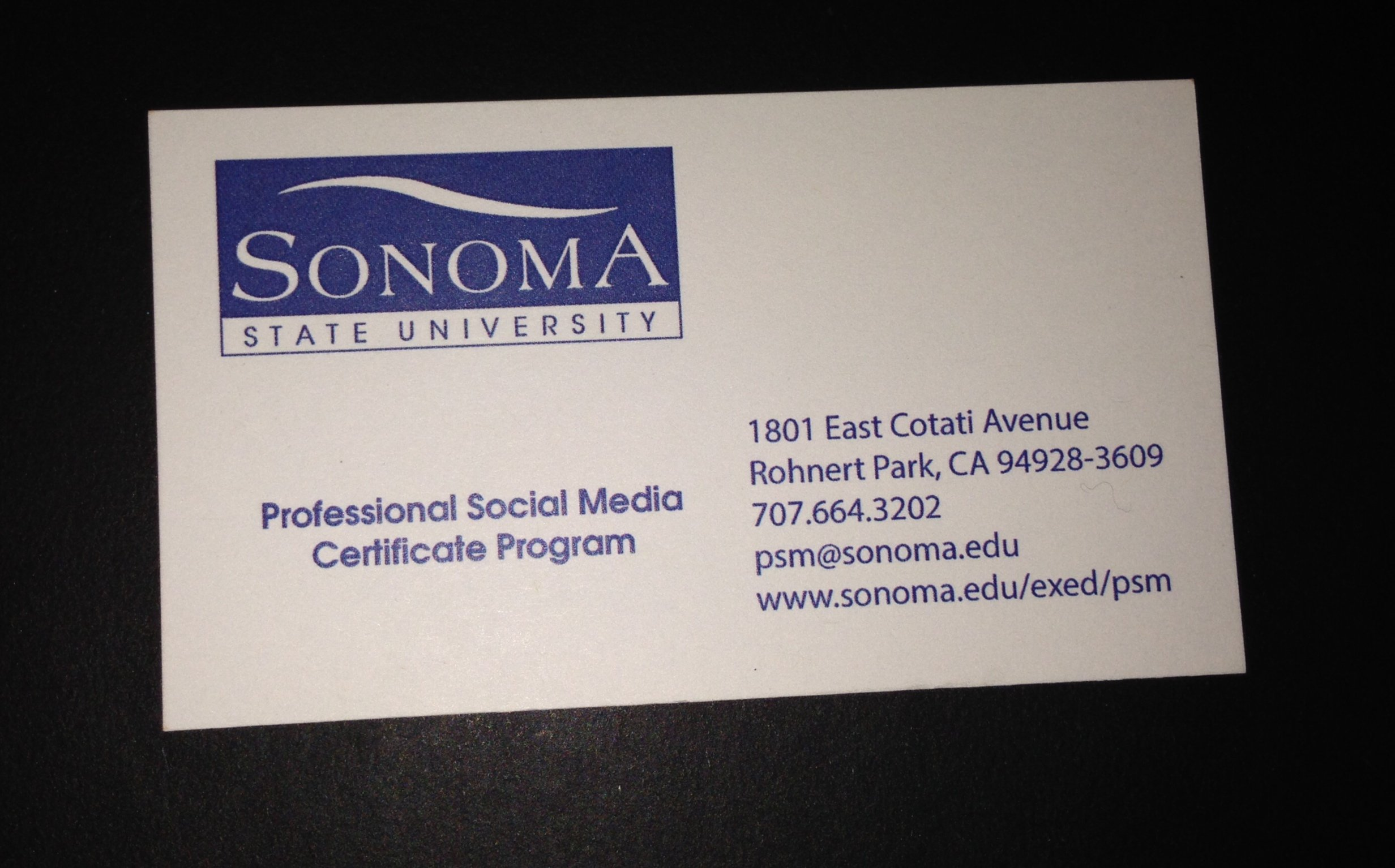 Professional Social Media Certification Kerry Rego Consulting