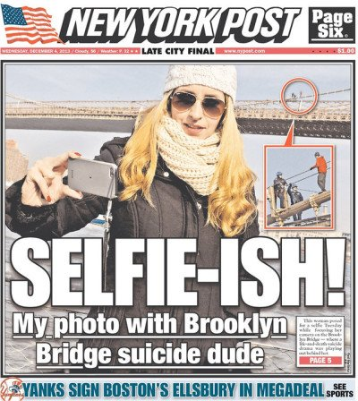 New York Post Selfie gate