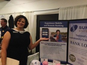 Kerry Rego Tradeshow Summit State Bank