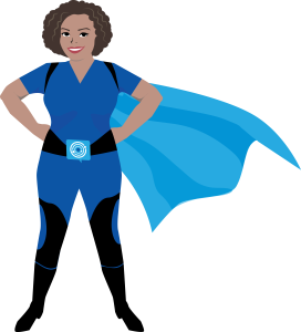 Super Social Superhero Kerry Rego