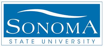 sonoma state university csu logo social media certificate