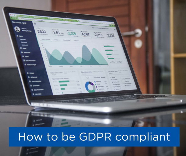 How to be GDPR compliant