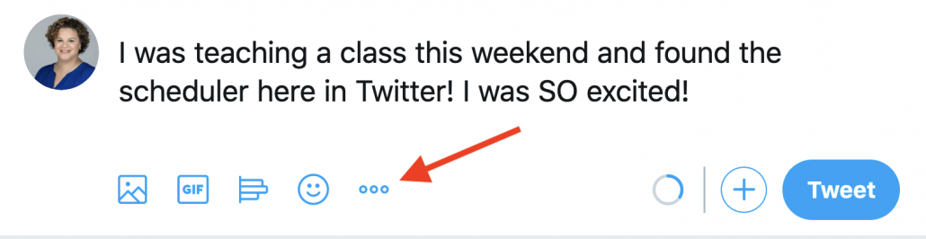Twitter scheduler screenshot 1